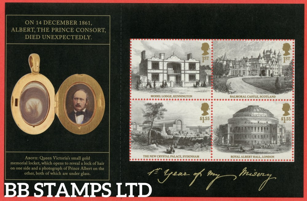 2019 2 x 1st class & 2 x £1.55 Commemorative's From DY30 ( SG. 4219, 4220 & 4221 ) ( Queen Victoria ) ( Pane 3 ): Printed by ISP Cartor (FSC C100572) Litho