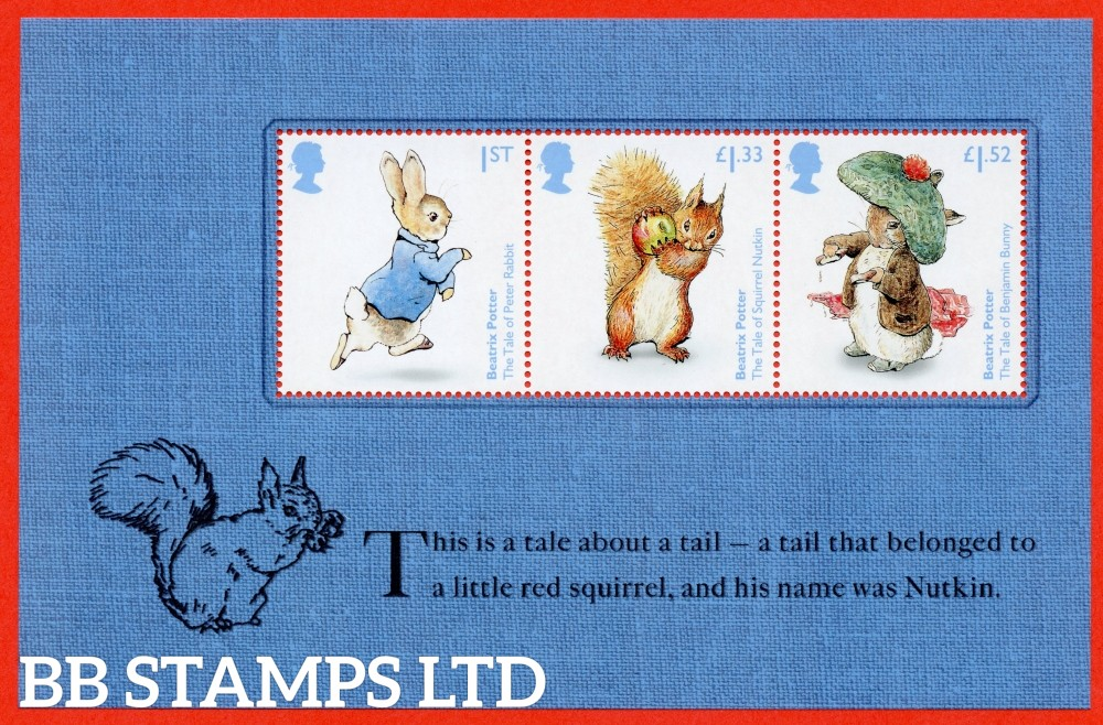 1st Class, £1.33 and £1.52 Commemorative's From DY19 ( Beatrix Potter ) ( Pane 2 )
