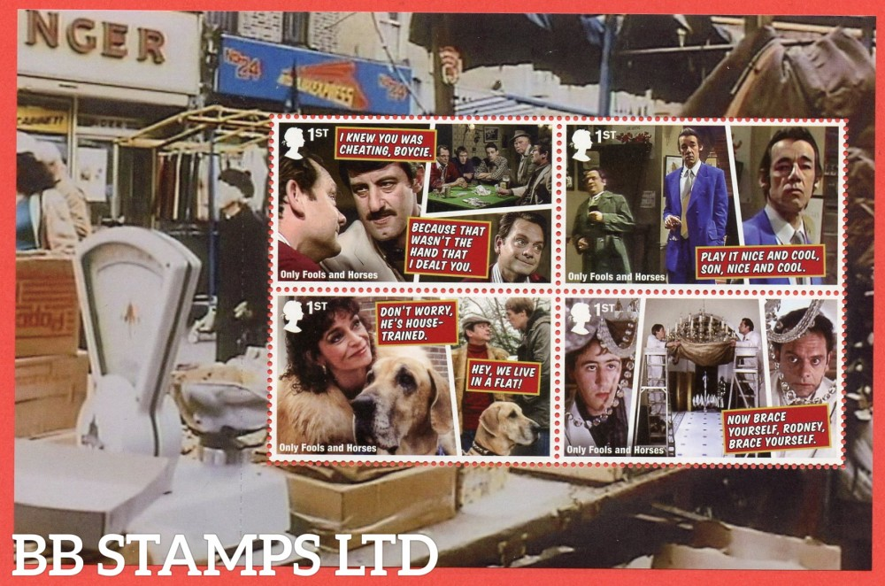 2021 Only Fools and Horses (Pane 1) from DY37