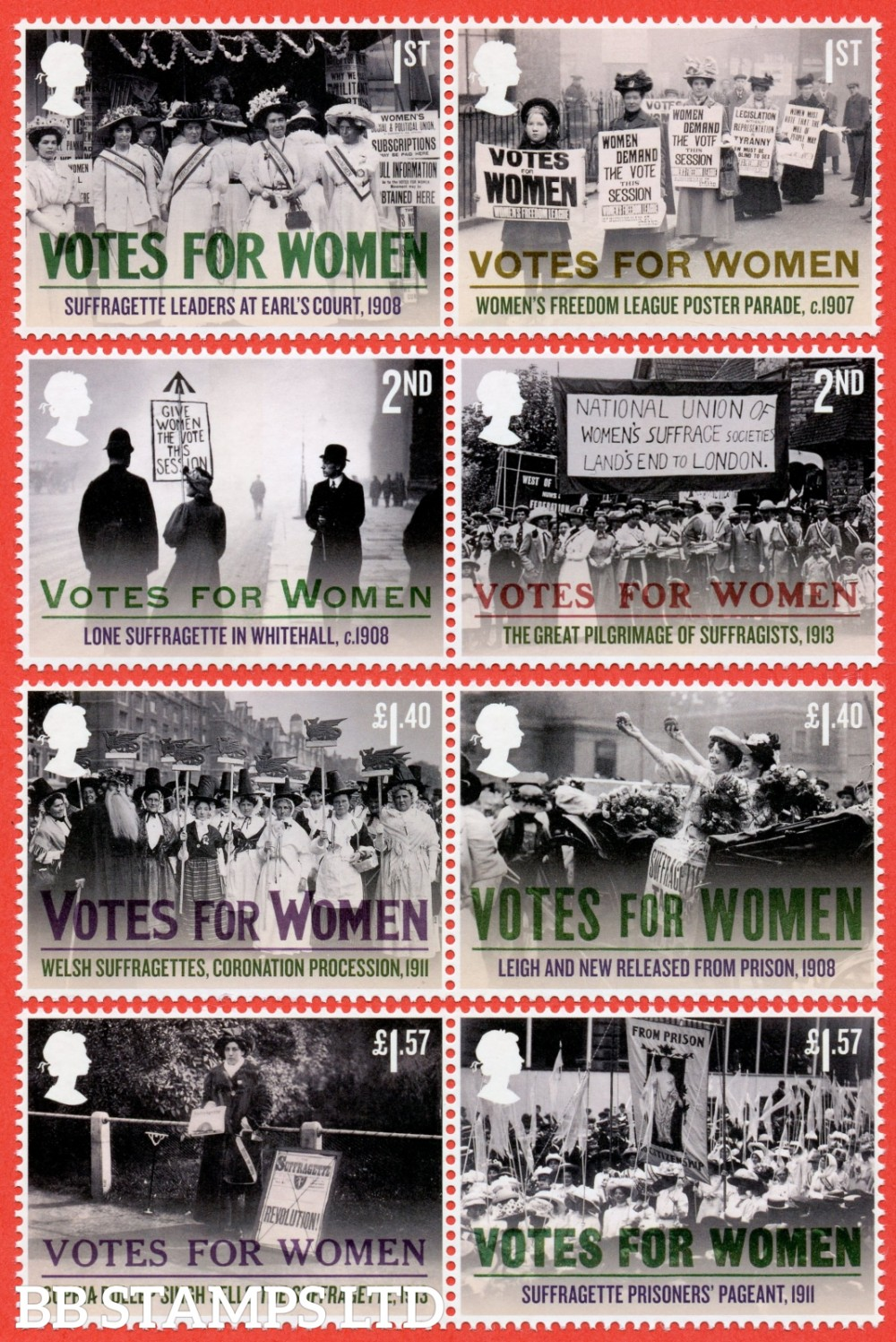 2018 Centenary 100 Years of Votes for Women