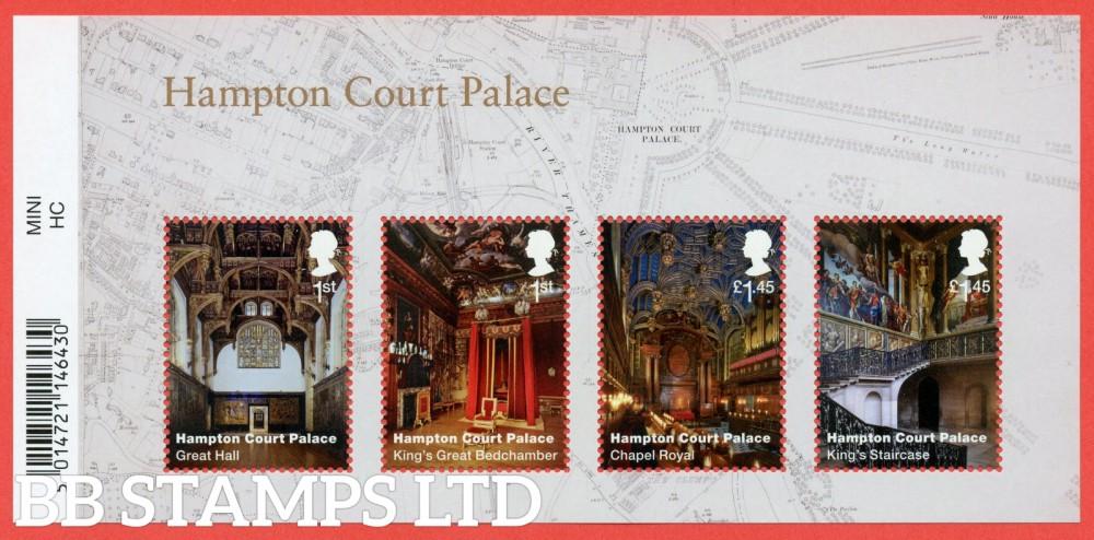 2018 Hampton Court Palace Minisheet - WITH BARCODE