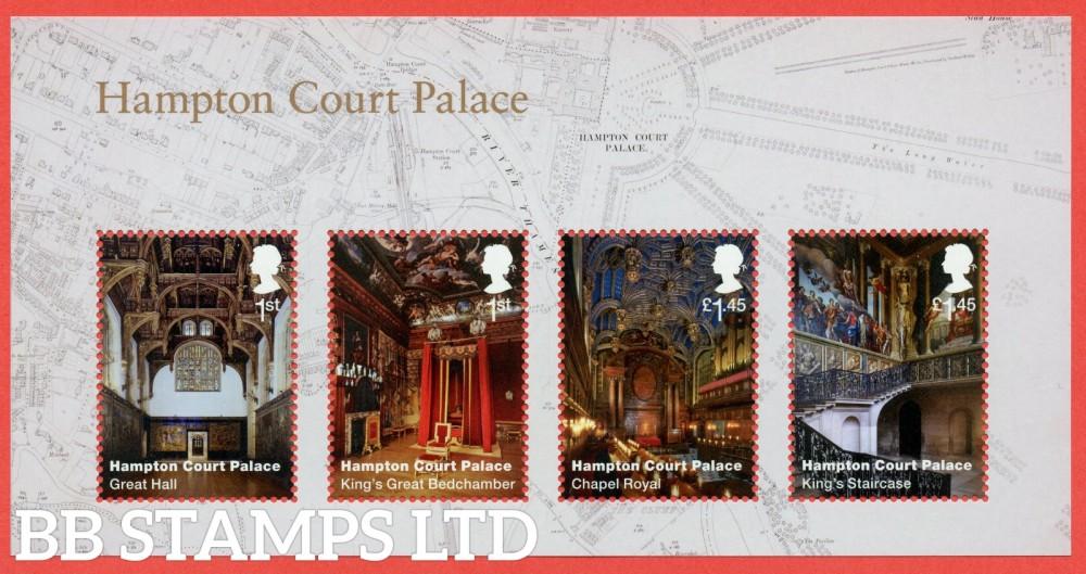 2018 Hampton Court Palace Minisheet - NO BARCODE