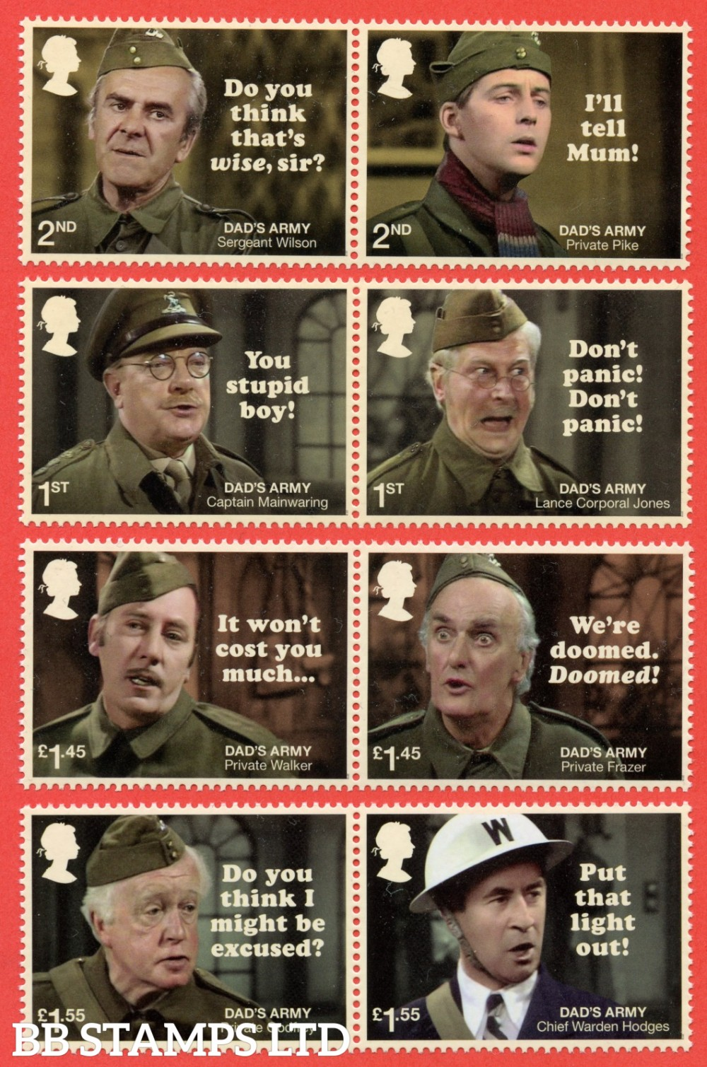2018 Dads Army 50th Anniversary