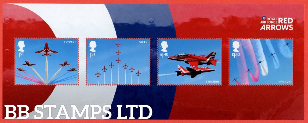 2018 The RAF Centenary: 100 Years of RAF Minisheet - NO BARCODE