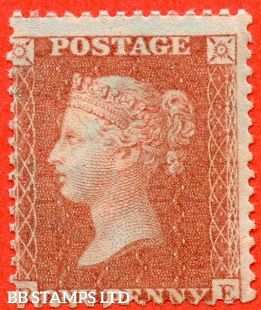 "SG. 33. C8 (5). "" BE "". Plate 44. A super UNMOUNTED MINT example of this scarce shade complete with RPS certificate."
