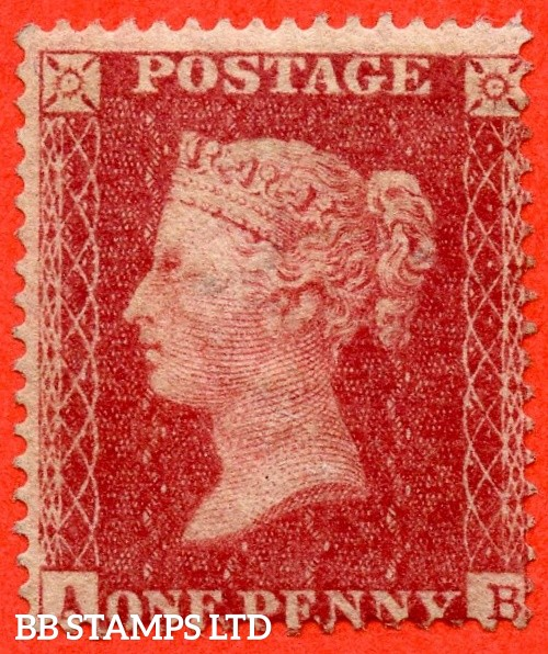 "SG. 36. C11. "" AB "". Plate 46. A fine UNMOUNTED MINT example of this RARE mint Victorian issue."