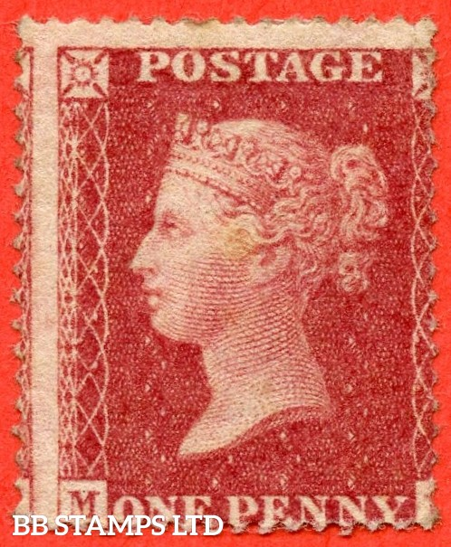 "SG. 36. C11. "" ML "". Plate 47. An average mint example."