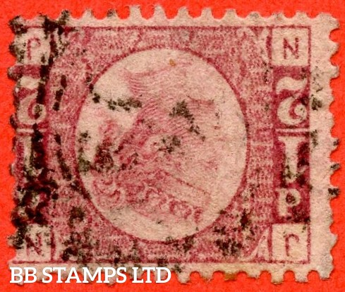 "SG. 48/49 wj. G4 d. "" NJ "". ½d Rose - red plate 15. REVERSED WATERMARK. "" UNLISTED ON THIS PLATE NUMBER "". A fine used example of this scarce watermark variety."
