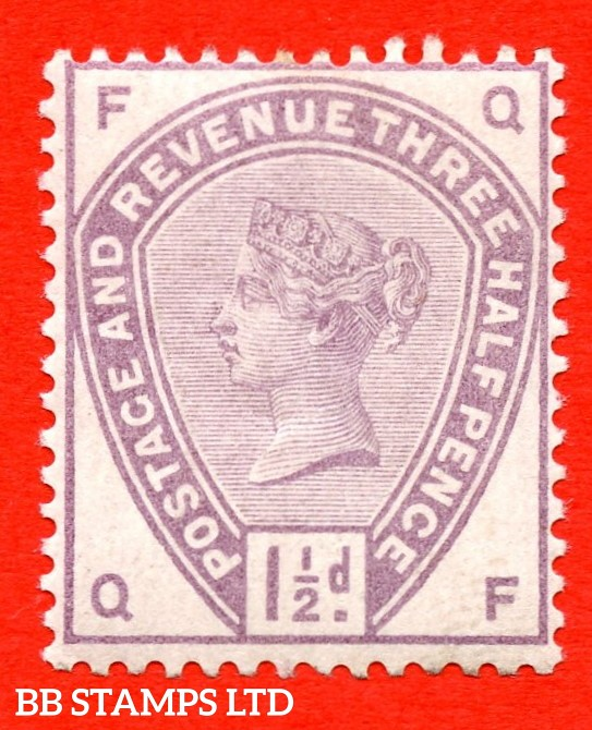 """SG. 188. K18. """" QF """". 1½d Lilac. A fine UNMOUNTED MINT example."""
