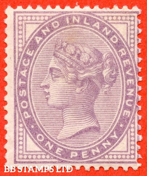SG. 171. K7 (3). 1d Pale Lilac. A very fine UNMOUNTED MINT example of this difficult stamp.