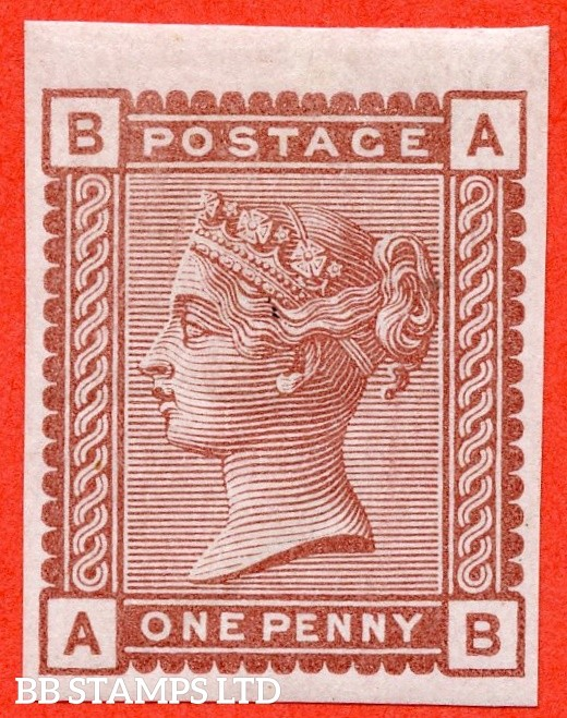 "SG. 166. K3. 1d Venetian Red. "" Imprimatur "". A very fine UNMOUNTED MINT example."