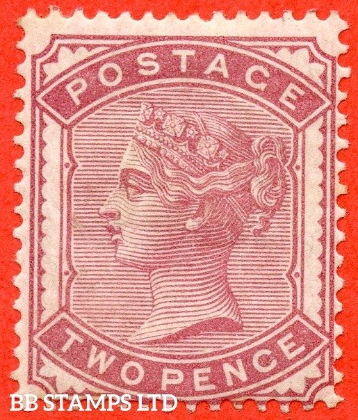 SG. 168 variety  K5 (3).  2d rose. A fine mounted mint example.