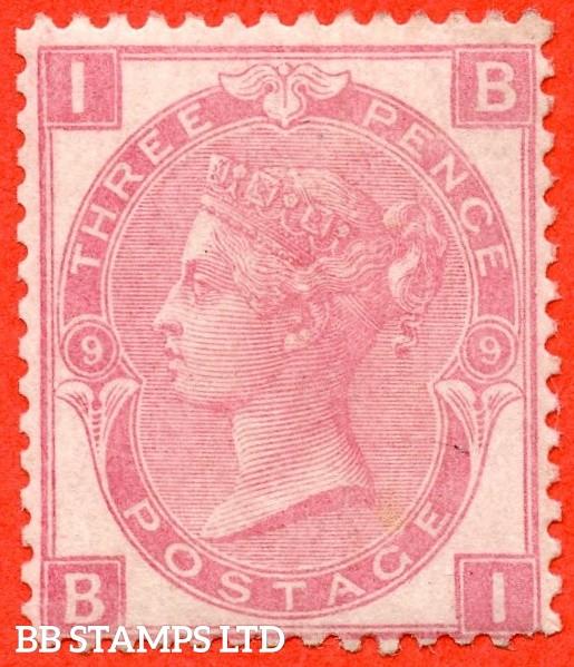 "SG. 103. J34. "" BI "" 3d Rose plate 9. An average mint ( reperfed ) example."