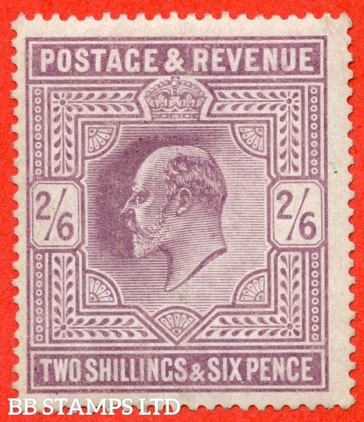 SG. 261. M49 (1). 2/6d Pale Dull Purple ©. A fine UNMOUNTED MINT example.