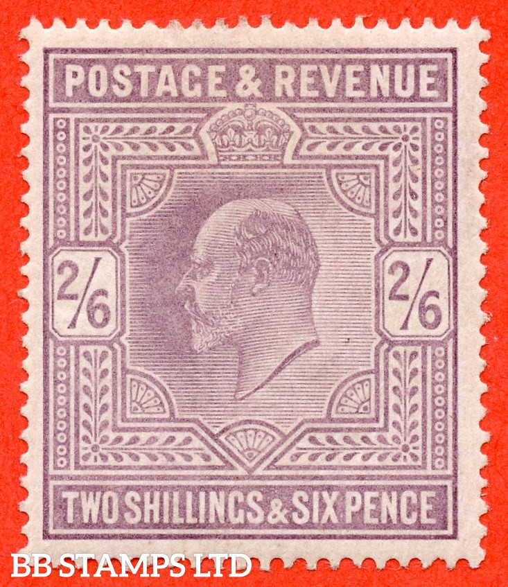 SG. 260. M48 (1). 2/6 Lilac. A fine UNMOUNTED MINT example.