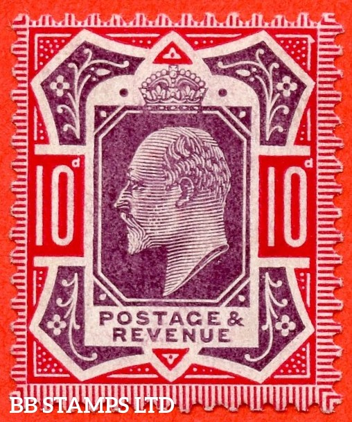 SG. 254b. M43 (1). 10d Dull Purple & Carmine ©. A super UNMOUNTED MINT example complete with RPS certificate.