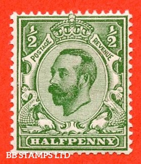 SG. 326. N2 (8). ½d Bluish green. A superb UNMOUNTED MINT example complete with BPA certificate.