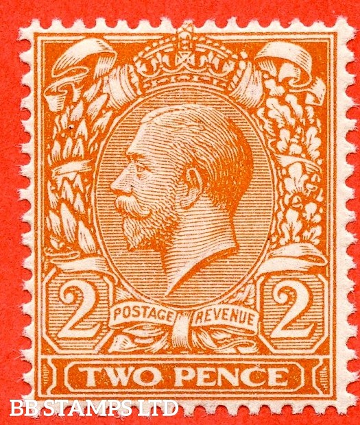 SG. 367 Variety N19 (3). 2d Deep Reddish - Orange (Die1). A superb UNMOUNTED MINT example complete with RPS certificate.