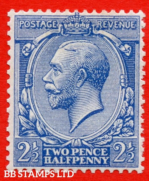 SG. 372 variety N21 (UNLISTED). 2½d dull greenish blue. A very fine UNMOUNTED MINT example of this known but UNLISTED by SG. George V shade variety. Complete with Hendon certificate.