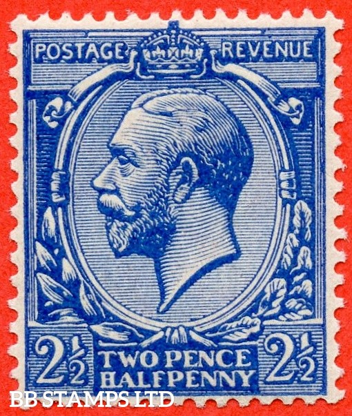 SG. 371a. Variety N21 (5). 2½d deep bright blue. A super UNMOUNTED MINT example. Complete with Hendon certificate.