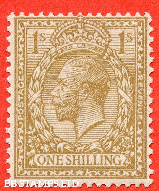 SG. 395 variety N32 (6). 1/- Fawn-Brown. A super UNMOUNTED MINT example complete with RPS certificate.