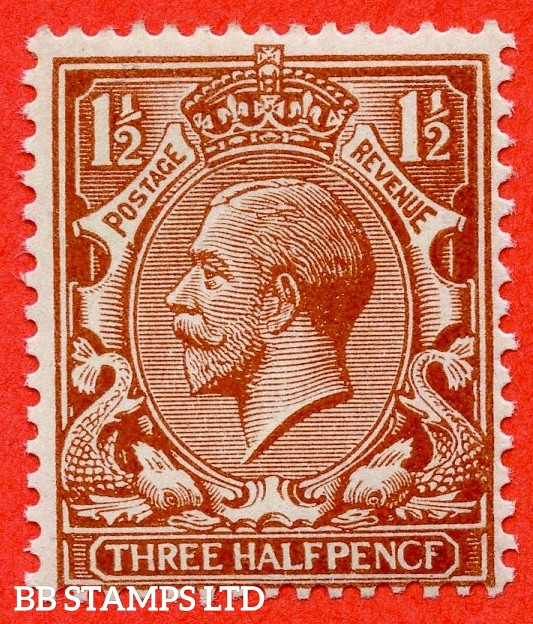 "SG. 364 a. N18 (13) f. 1 ½d Chestnut "" PENCF "" error. A fine UNMOUNTED MINT example."