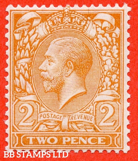 SG. 368 variety N19 ( UNLISTED). 2d very pale orange. A fine UNMOUNTED MINT example of this known but unlisted by SG. shade variety. Complete with Hendon certificate.