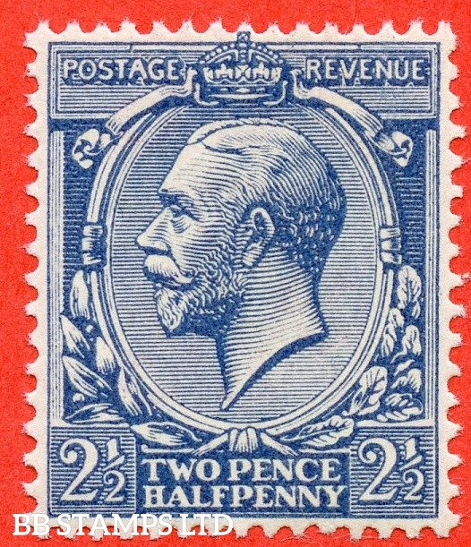 SG. 373a. N21 (17). 2½d Dull Prussian Blue. A superb UNMOUNTED MINT example complete with BPA certificate.