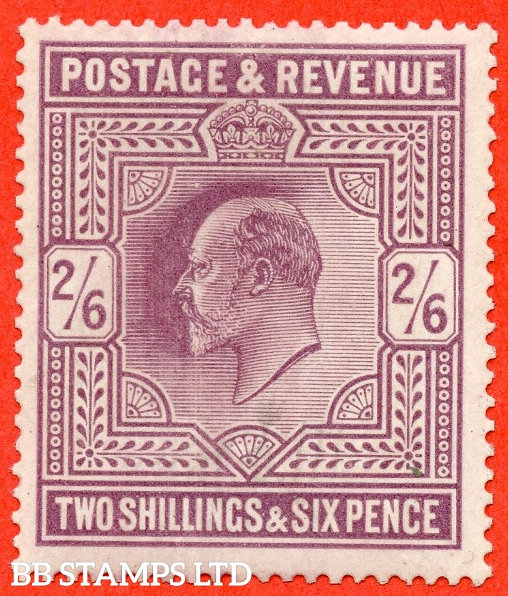 SG. 261. M49 (1). 2/6d Pale Dull Purple ©. A fine mounted mint example.