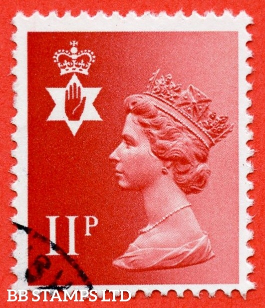 SG. NI30 Ey. 11p Scarlet. MISSING PHOSPHOR. A very fine used example.