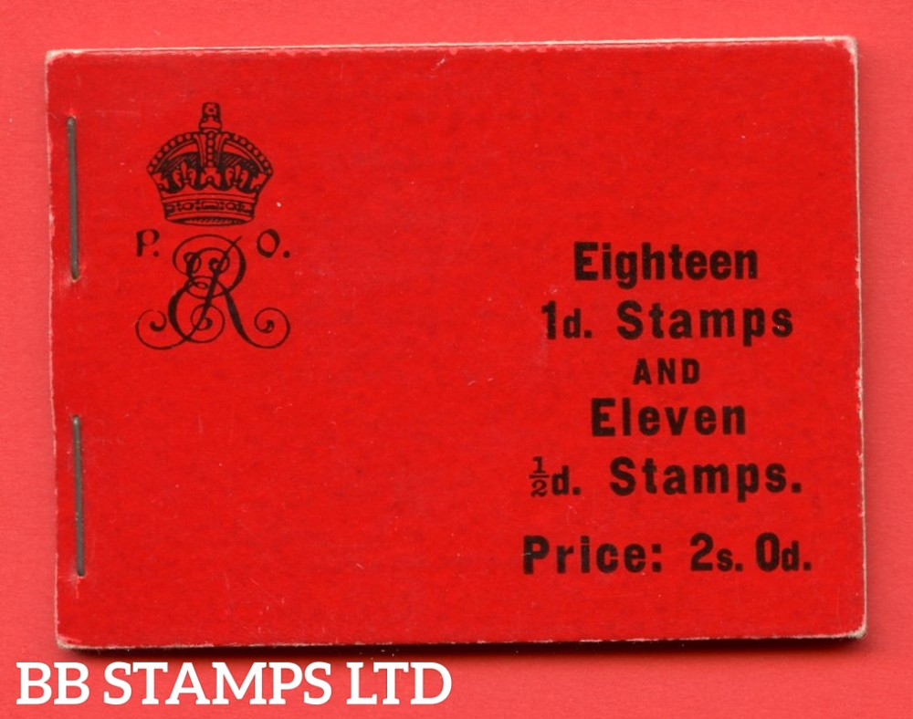 "SG. BA5. "" 2s 0d "".  Edition number 5. A very fine complete example of this very scarce Edwardian booklet."