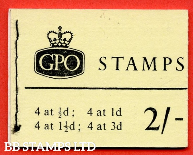 SG. N4p. 2/- Phosphor 1961 April. Multiple Crown Sideways (Issued: 14.7.61)