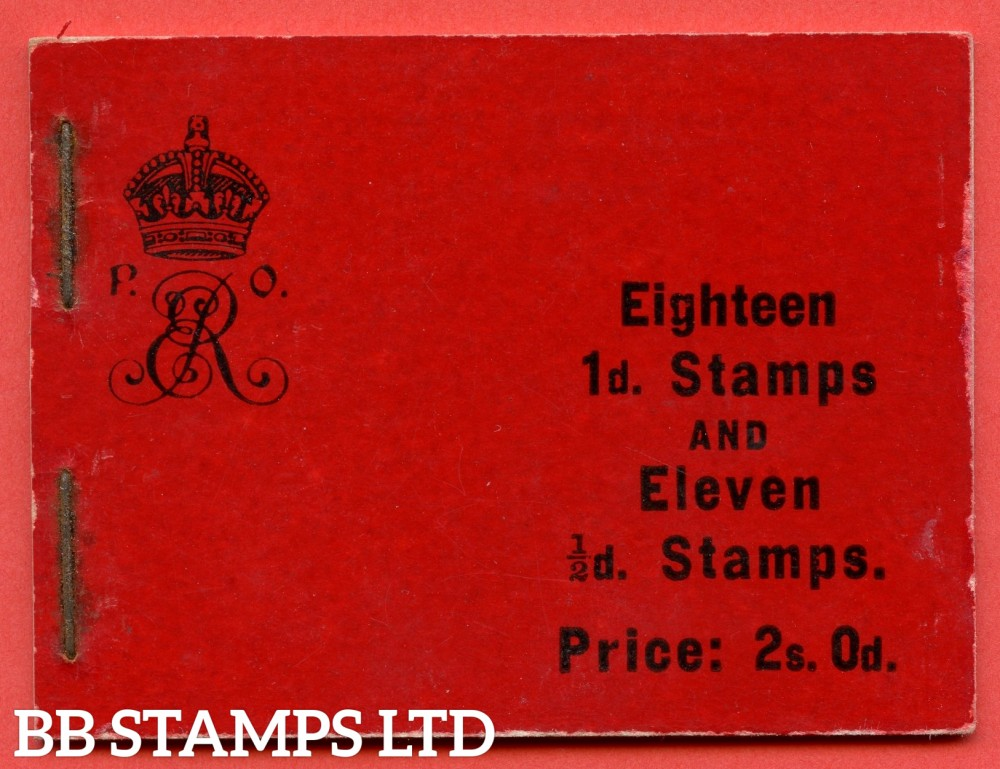 "SG. BA4. "" 2s 0d "". Edition number 4. A very fine complete example of this very scarce Edwardian booklet. A RARE booklet these days."