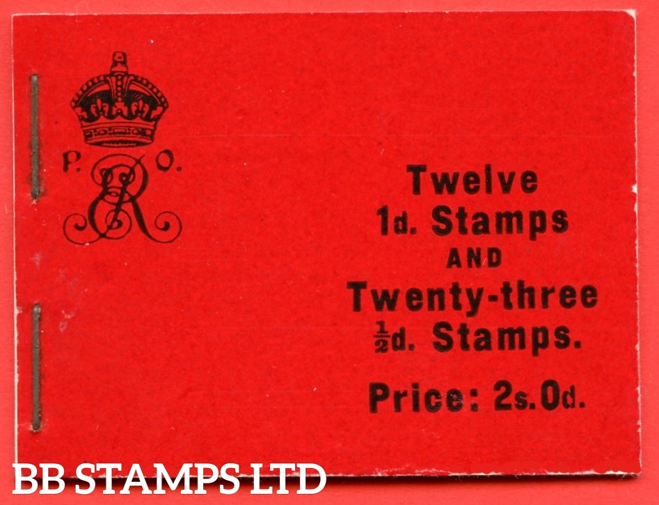 "SG. BA2. "" 2s 0d "". Edition number 2. A very fine complete example of this very scarce Edwardian booklet."