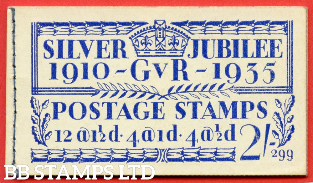 "SG. BB16. "" 2/- "". Edition number 299. A fine complete example of this popular 1935 Silver Jubilee booklet."