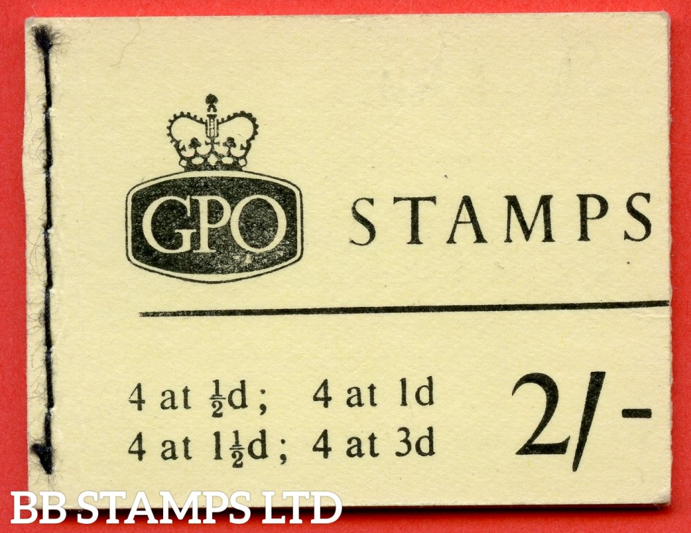 SG. N16p. 2/- Booklet. June 1964. PHOSPHOR. A very fine complete example of this QEII booklet.
