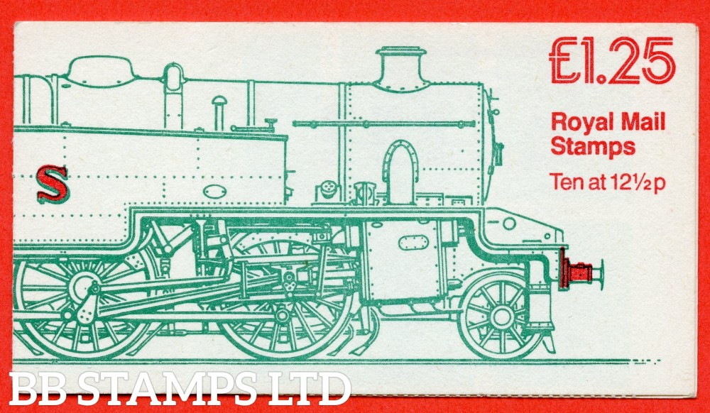 SG. FK6Aa. £1.25 Railway Engines 2. LMS Class 4P Passenger Tank Engine Left Margin (corrected to 36p for 200g). A fine complete booklet.