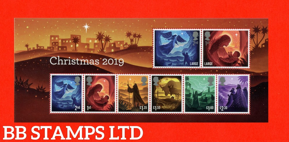 2019 Christmas Minisheet - WITH NO BARCODE