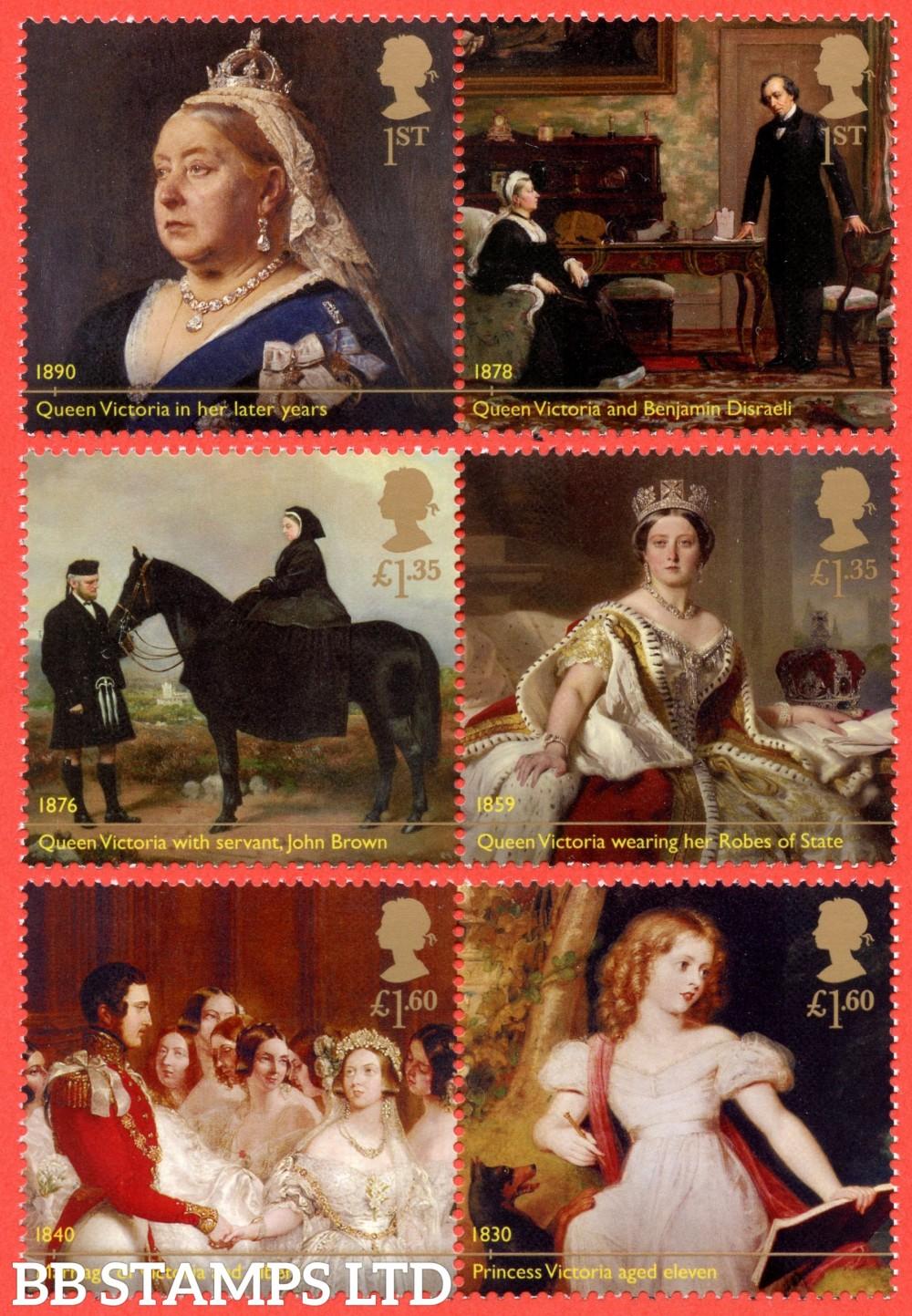 2019 Bicentenary of Queen Victoria (PACK: Includes Minisheet - No Barcode) (AVAILABLE FROM: 24/05/19) (Images will be uploaded & orders dispatched on or after day of issue)