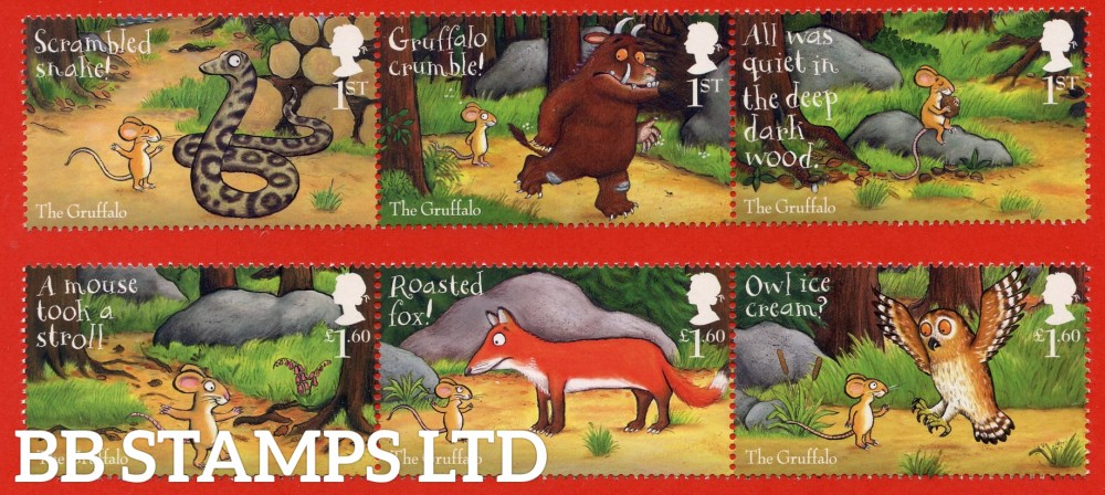 2019 The Gruffalo 10.10.19 (PACK: Includes Minisheet No Barcode)