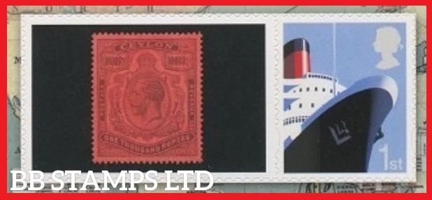2019 Freedom Fraternity Federation Spring Stampex Smiler single stamp with label (Label May Vary)