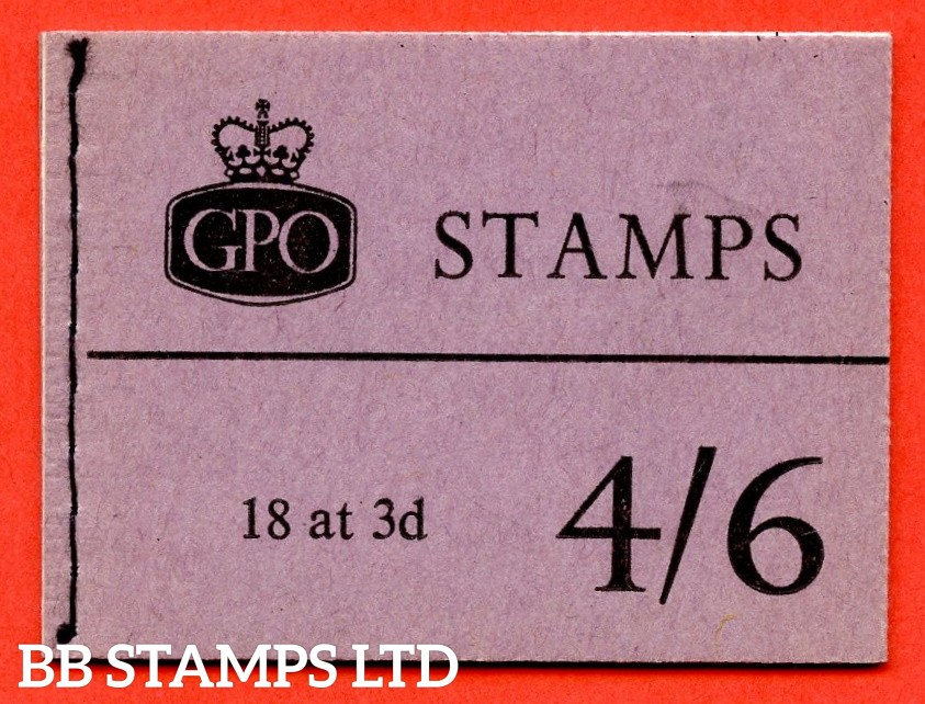 SG. L18g. 4/6 Graphite 1960 February. Violet Cover. Multiple Crown