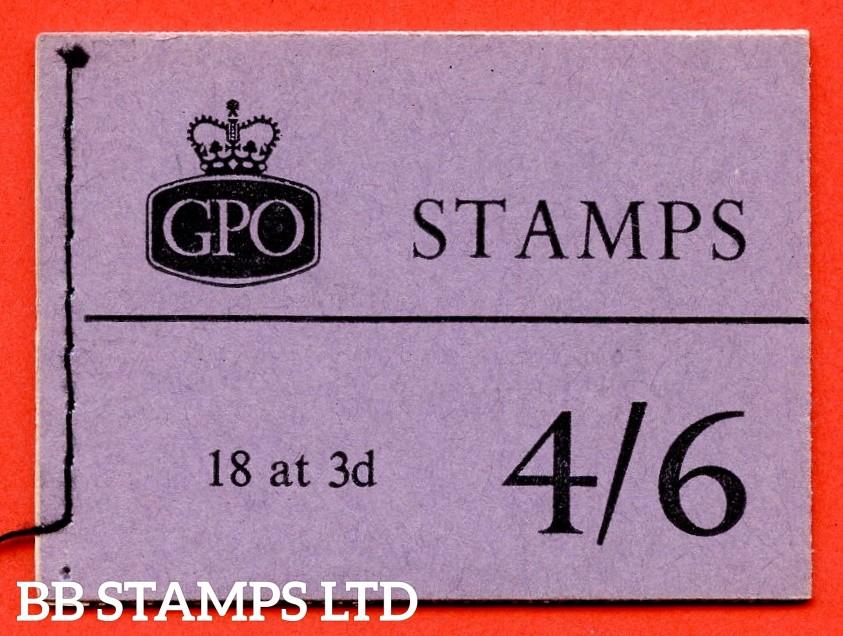 SG. L16g. 4/6 Graphite 1959 June. Violet Cover. Multiple Crown