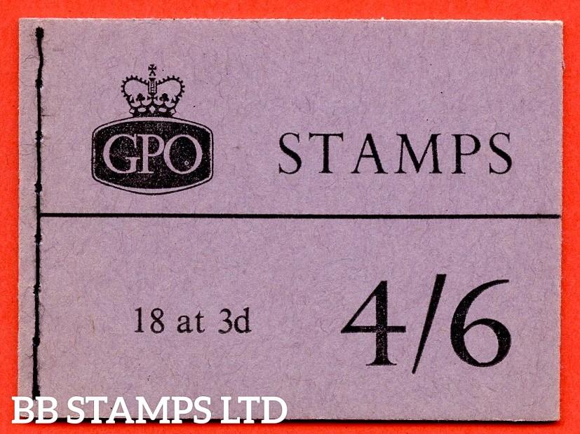 SG. L15g. 4/6 Graphite 1959 April. Violet Cover. Multiple Crown