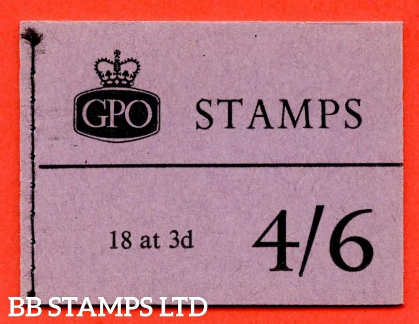 SG. L19g. 4/6 Graphite 1960 April. Violet Cover. Multiple Crown