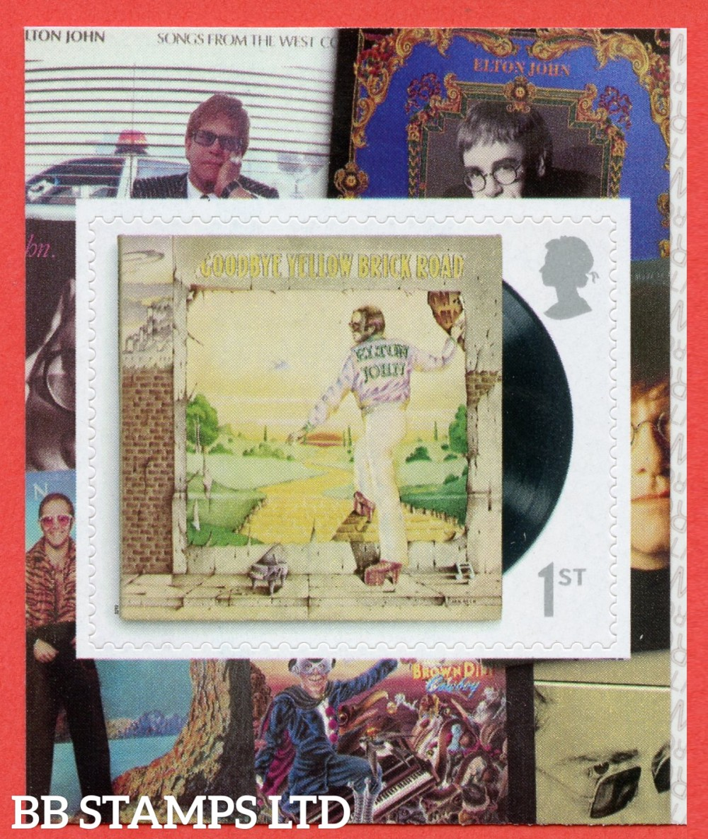 2019 1st Elton John - Yellow Brick Road Self Adhesive 3.9.19