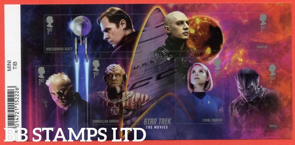 2020 Star Trek Minisheet (13.11.20) WITH BARCODE