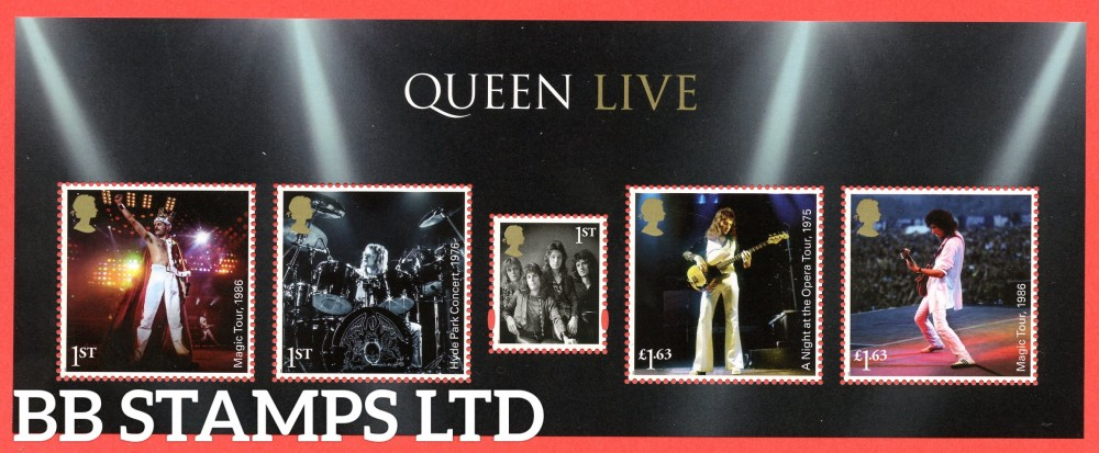 2020 Queen Minisheet 09.07.20 WITHOUT BARCODE