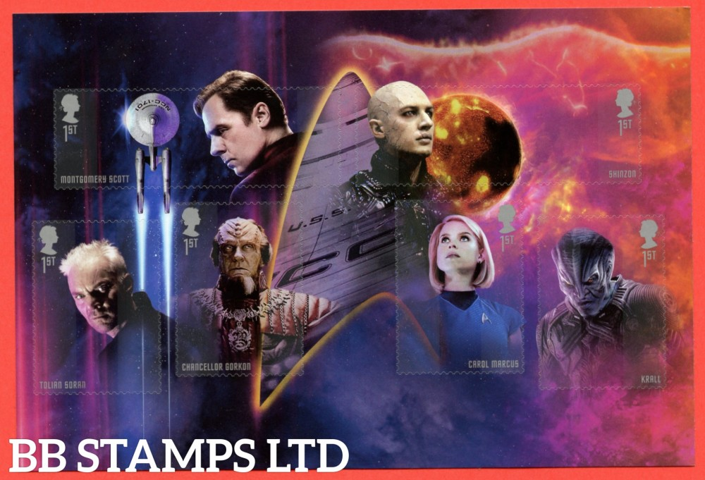 2020 Star Trek (3rd Issue) (13.11.20) ( from Booklet Pane from DY36)