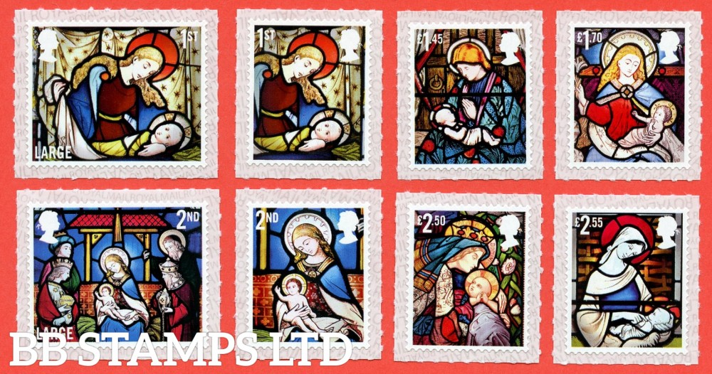 2020 Christmas (1st large,2nd large,1st,2nd,£1.45,£1.70,£2.50,£2.55) (3.11.20)